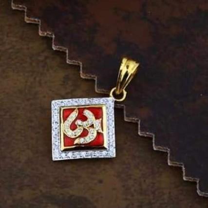 916 gold Cz Om pendants RH_pendants64