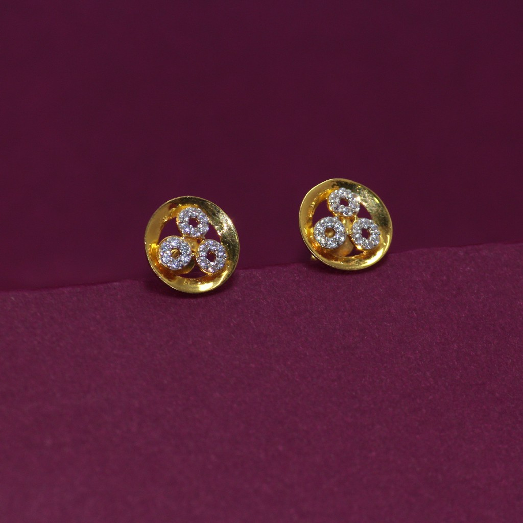 22KT Hallmarked Beautiful Earring