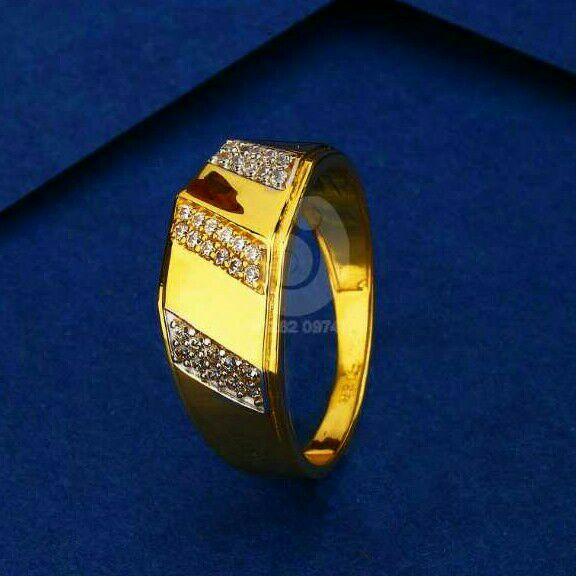 22ct Pricious Gold Gents Ring