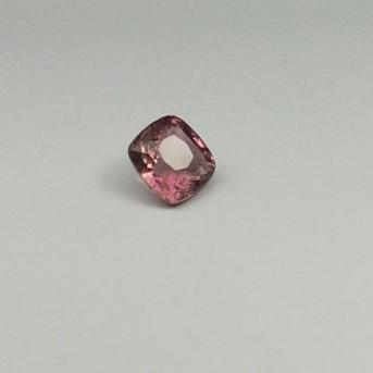 5.855ct cushion pink tourmaline