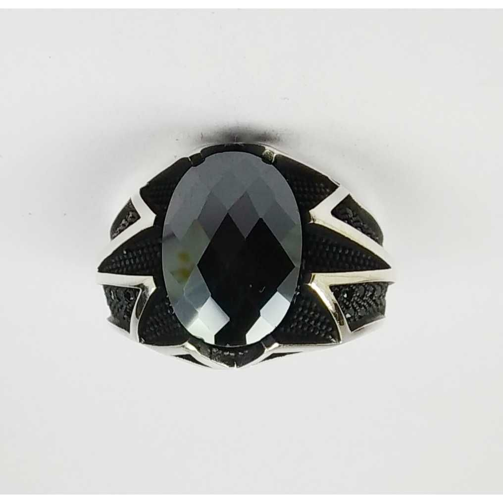 925 Silver Stone Gents Ring