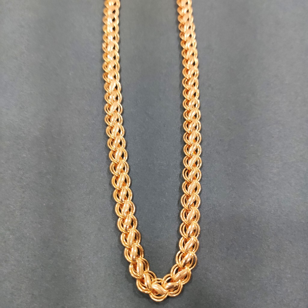 gold 916 Lotus chain
