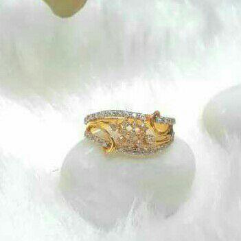 Gold Filigree Solitaire Ladies Rings