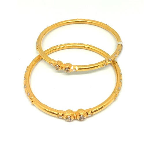 916 Gold Modhiya Copper Kadali Bangle