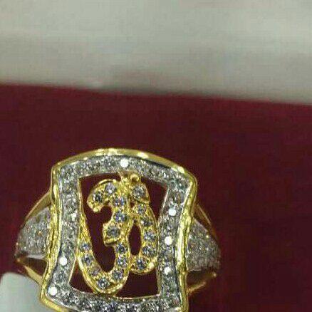 22k916 gents Ring