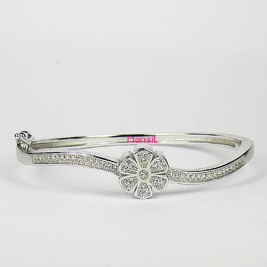 92.5 sterling silver Baby kada bracelet ML-111