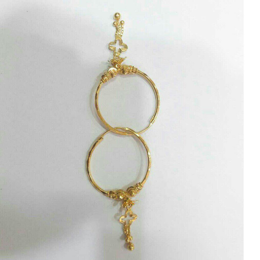 22k Gold Fancy Pipe Bali