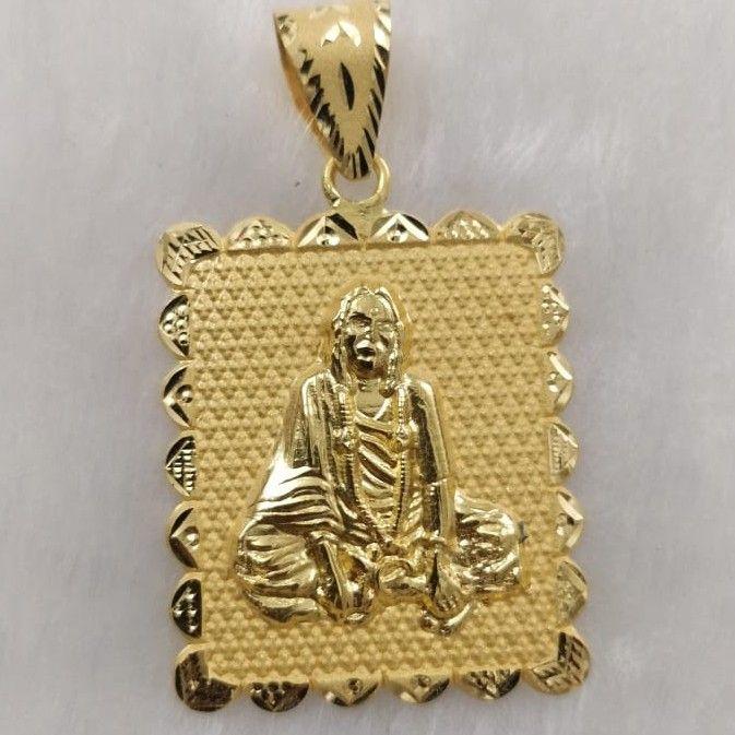 Sonal Maa Gold Pendant