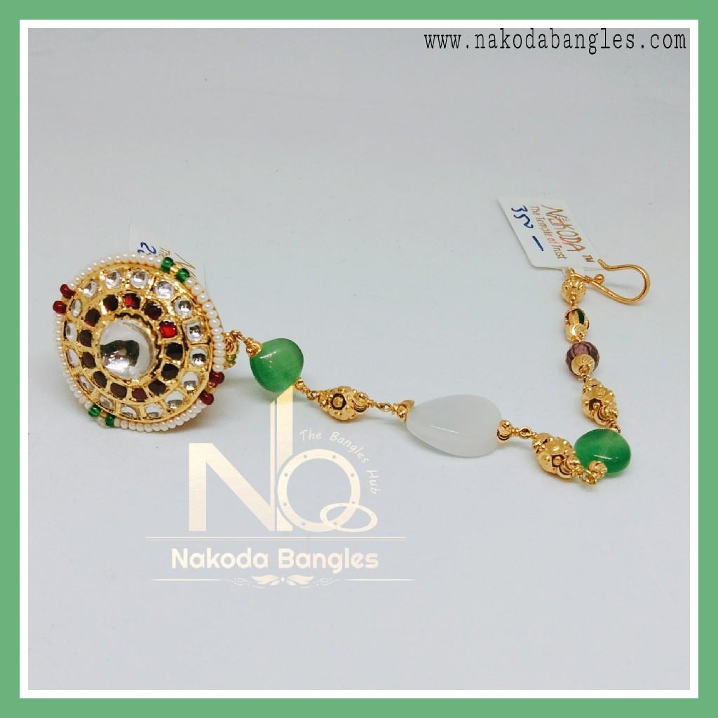 916 Gold Antique Rakhdi NB-258