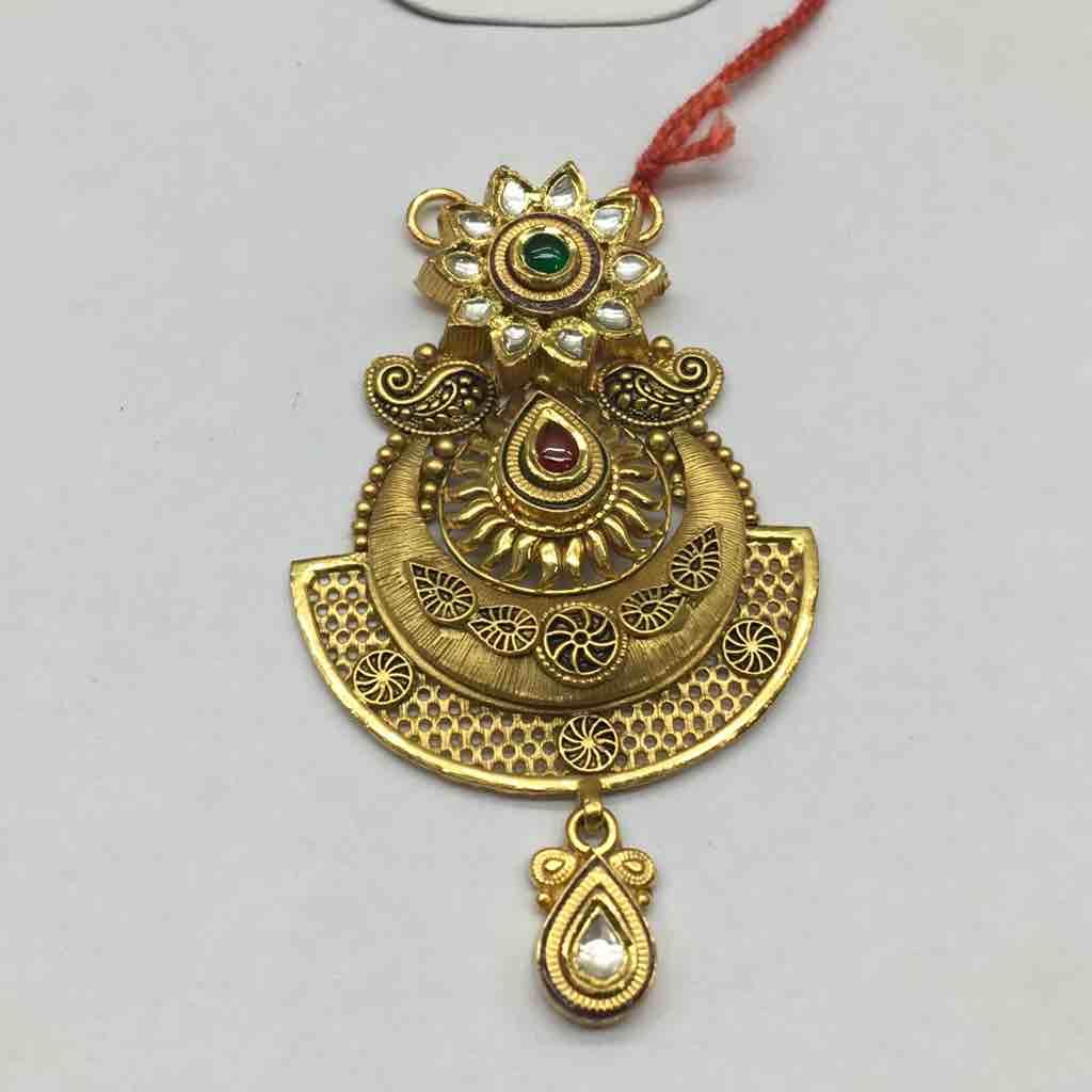 22ct antique ms pendant