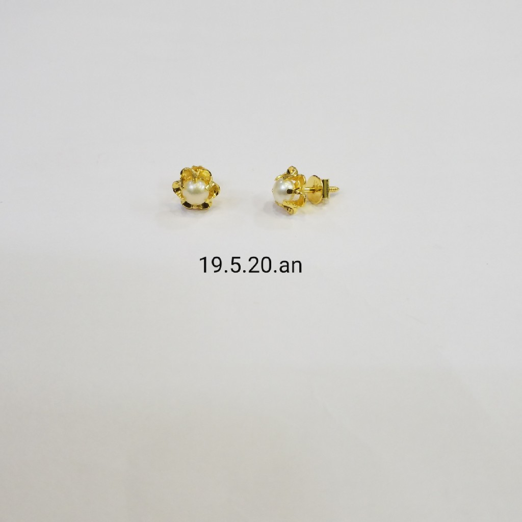 18kt gold c ston butti MC0263