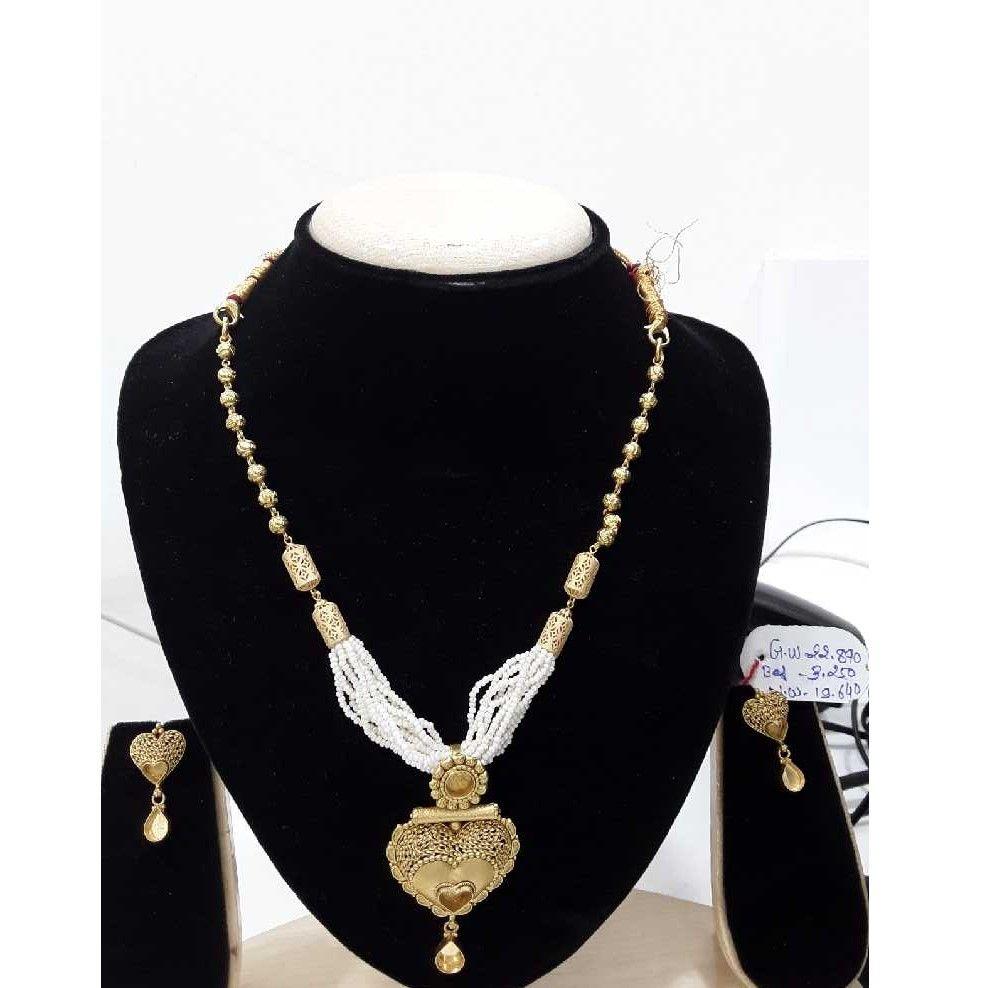 916 antique  fancy gold fancy heart designer set