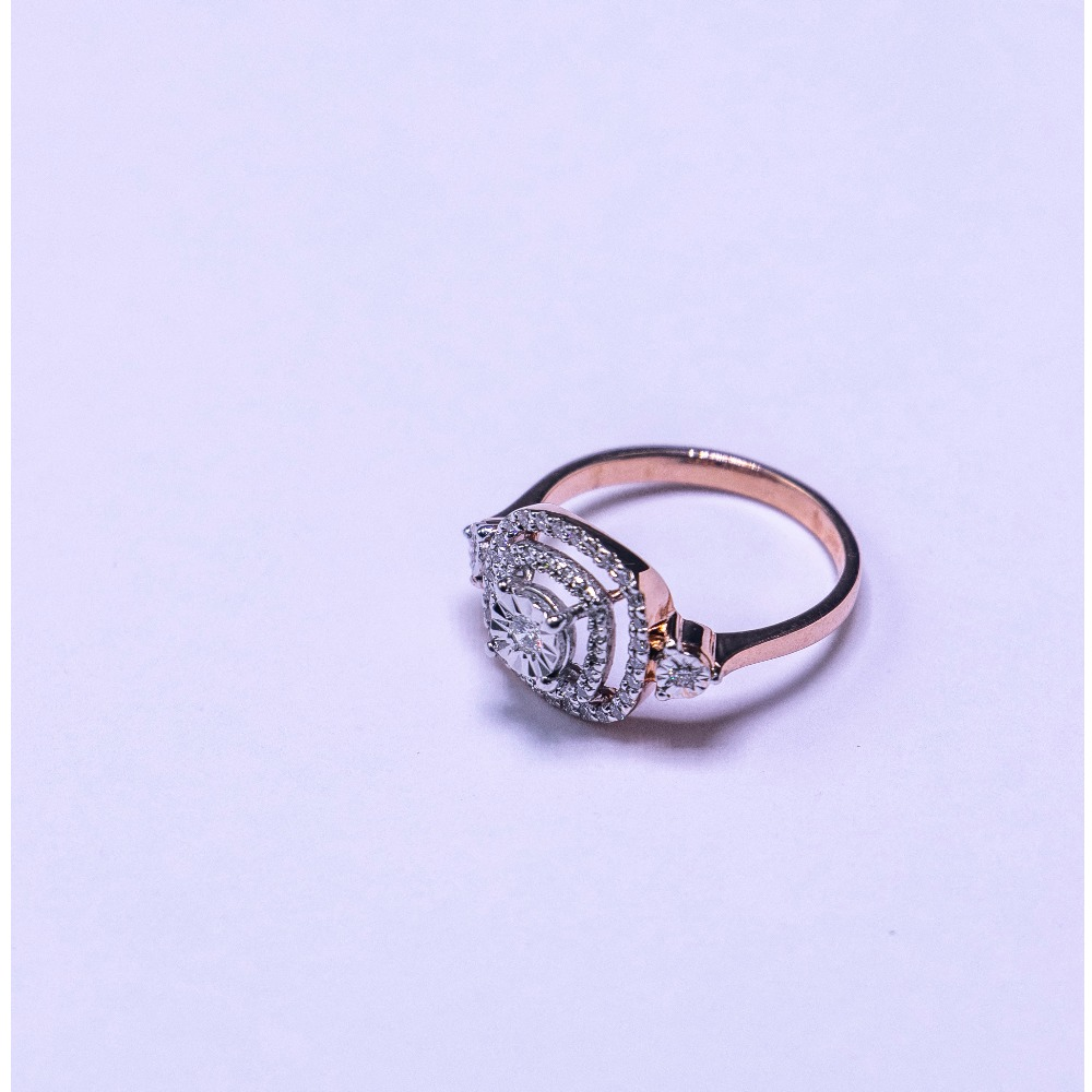 18k gold diamond ring agj-lr-318