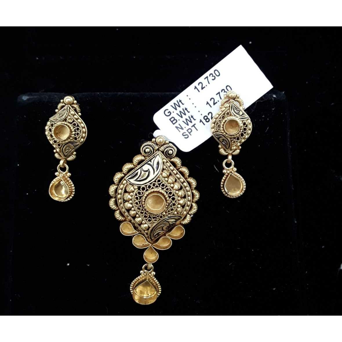 916 Antique Light Weight P.set Ghat
