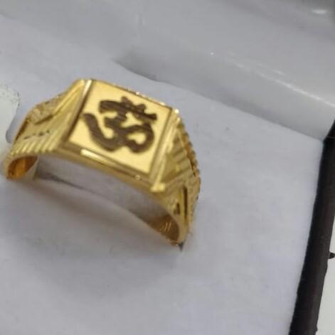 22kGents ring