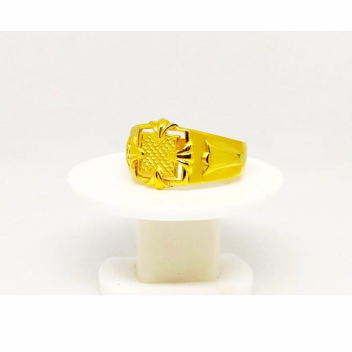 22 k gold ring. nj-r0743