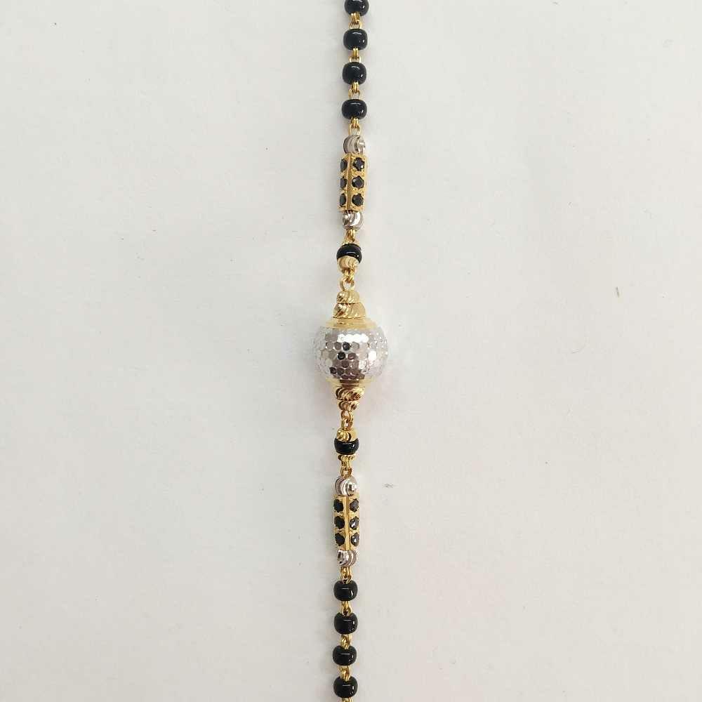 22k gold designer ball bracelet DVJ-018