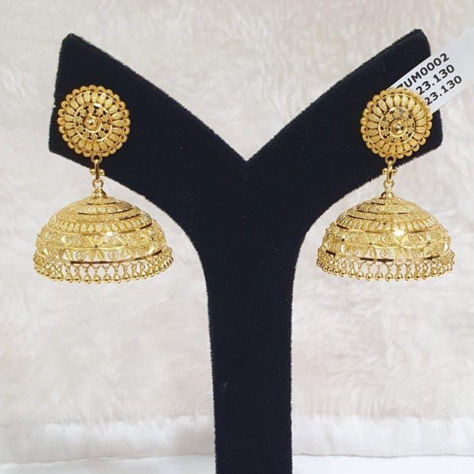 22kt Fancy Earring