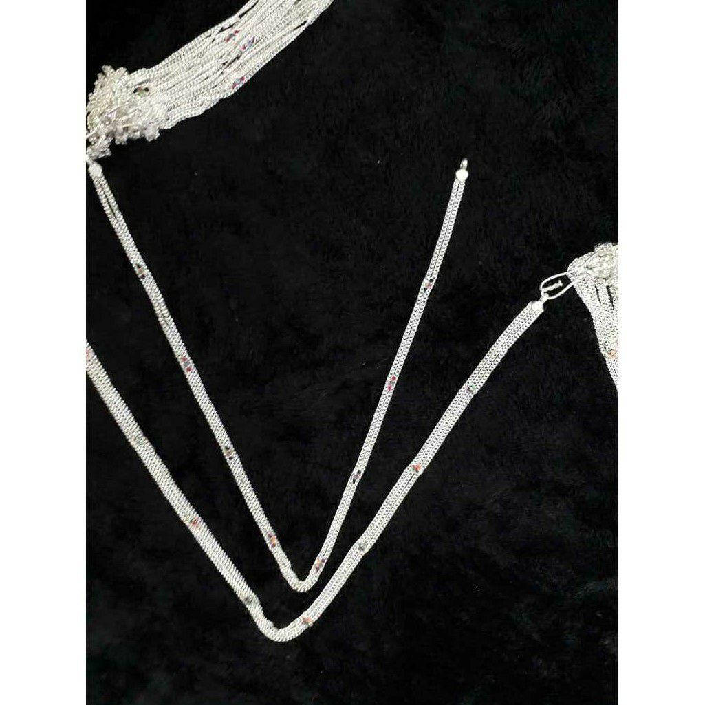 2(Two,Do) Line Mina Kadap Chain Baccha(Small Size) Kandora