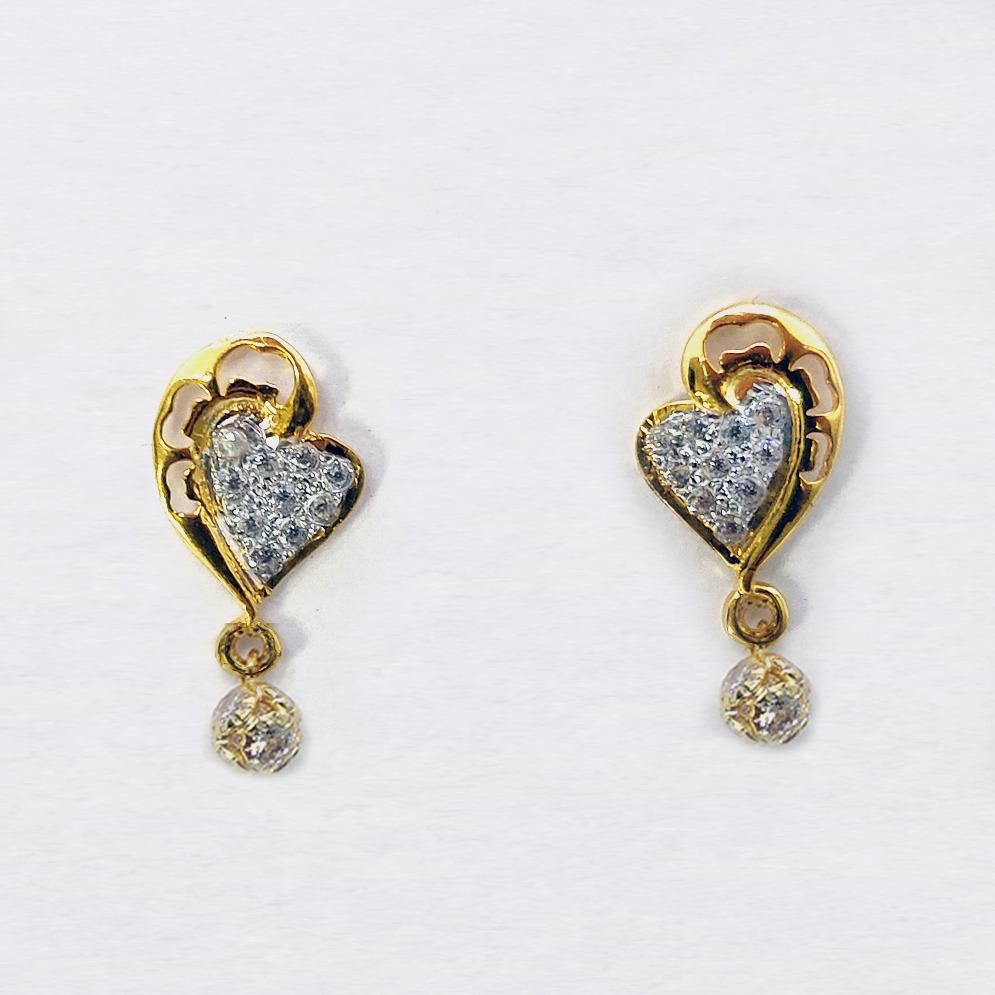 916 cz gold pendant set sk-ps010