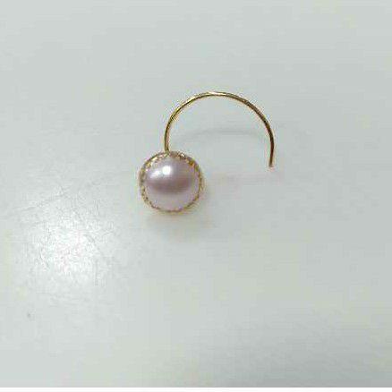 Pearl nose pin