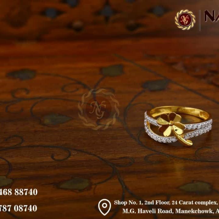 22 kt gold ledis rings (vinti)
