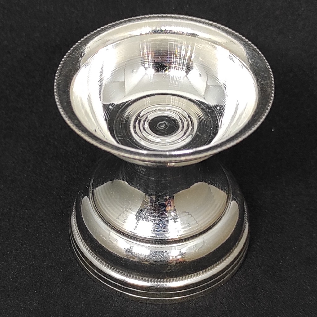 silver Deepam Diya