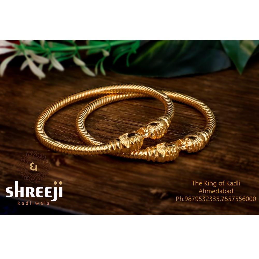 916 Gold Classic Variya Copper Kadli