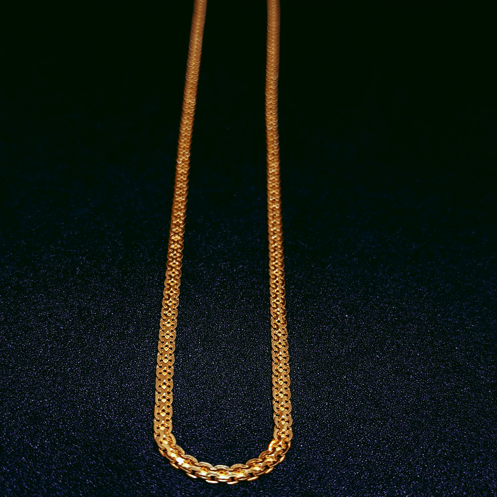 22Kt Gold Chain For Daily Wear
