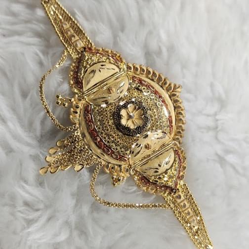 gold holmark lokit  beautiful desgin