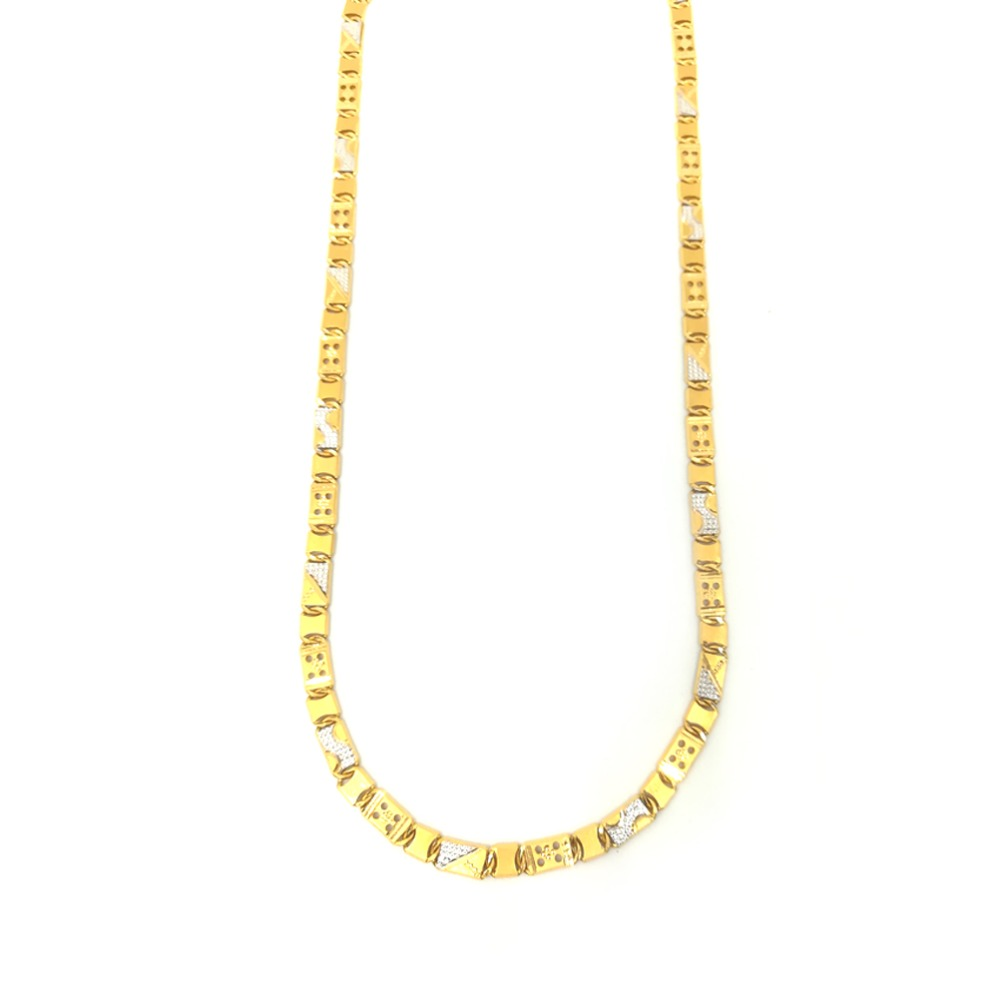916 gold fancy thick gents chain