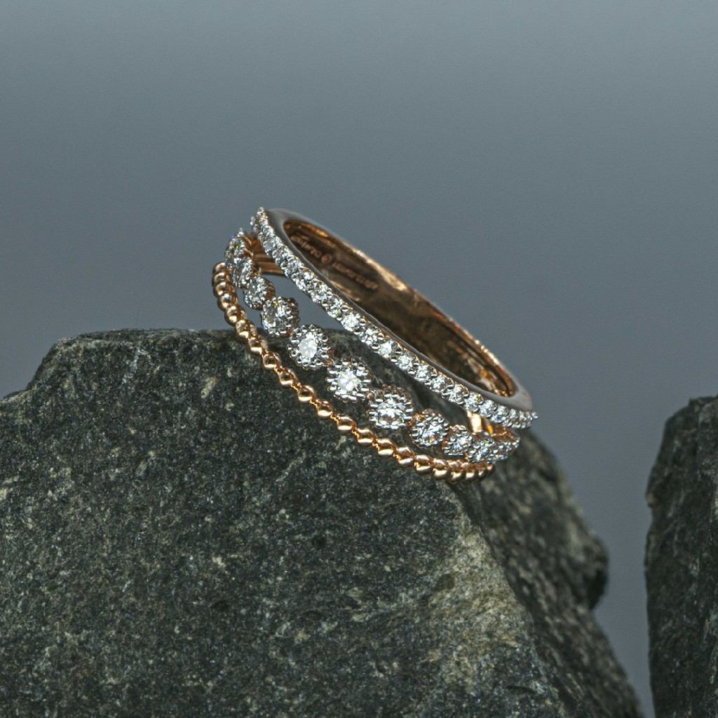 Real Daimond ladies Ring
