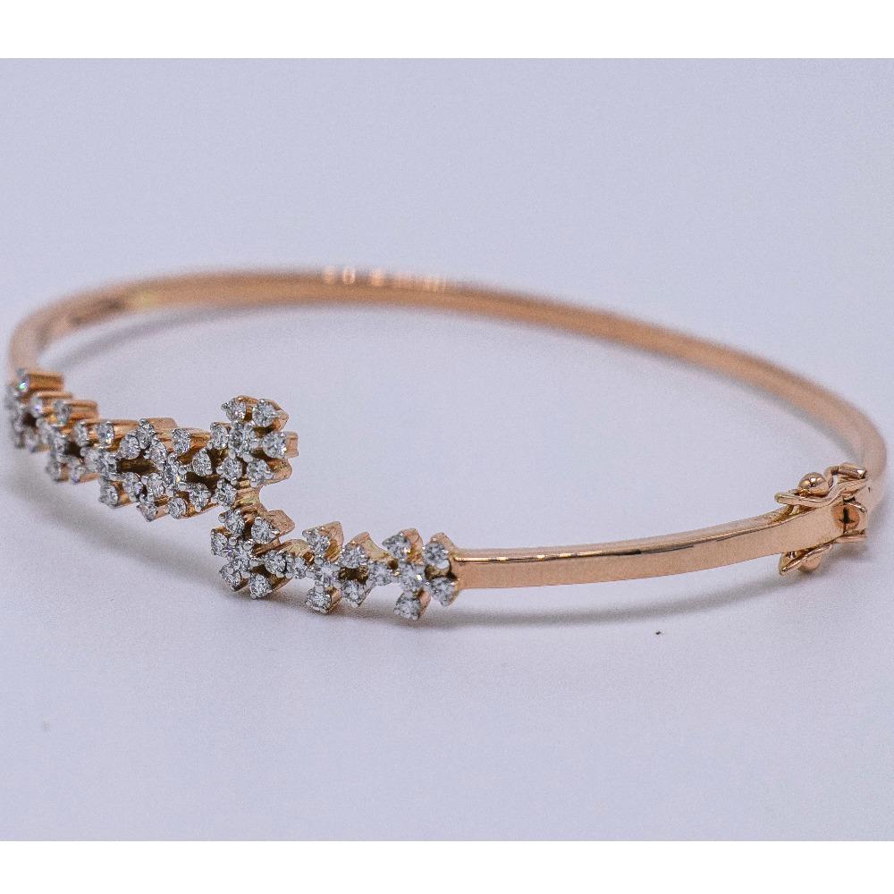 14k  gold diamond bracelet agj-lb-02