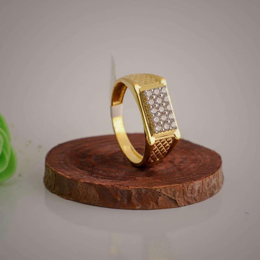 Diamond casting fancy ring