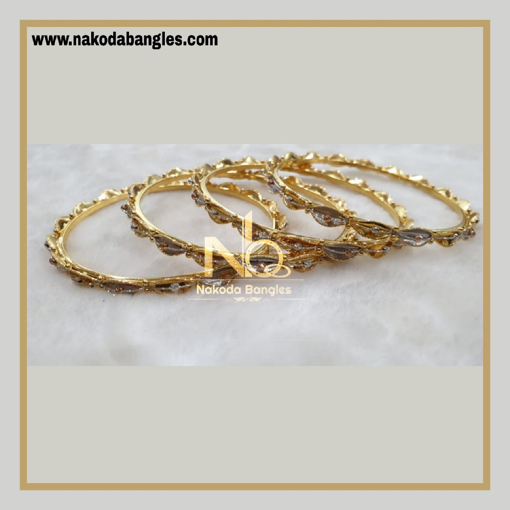 916 Gold Italian Bangles NB - 873