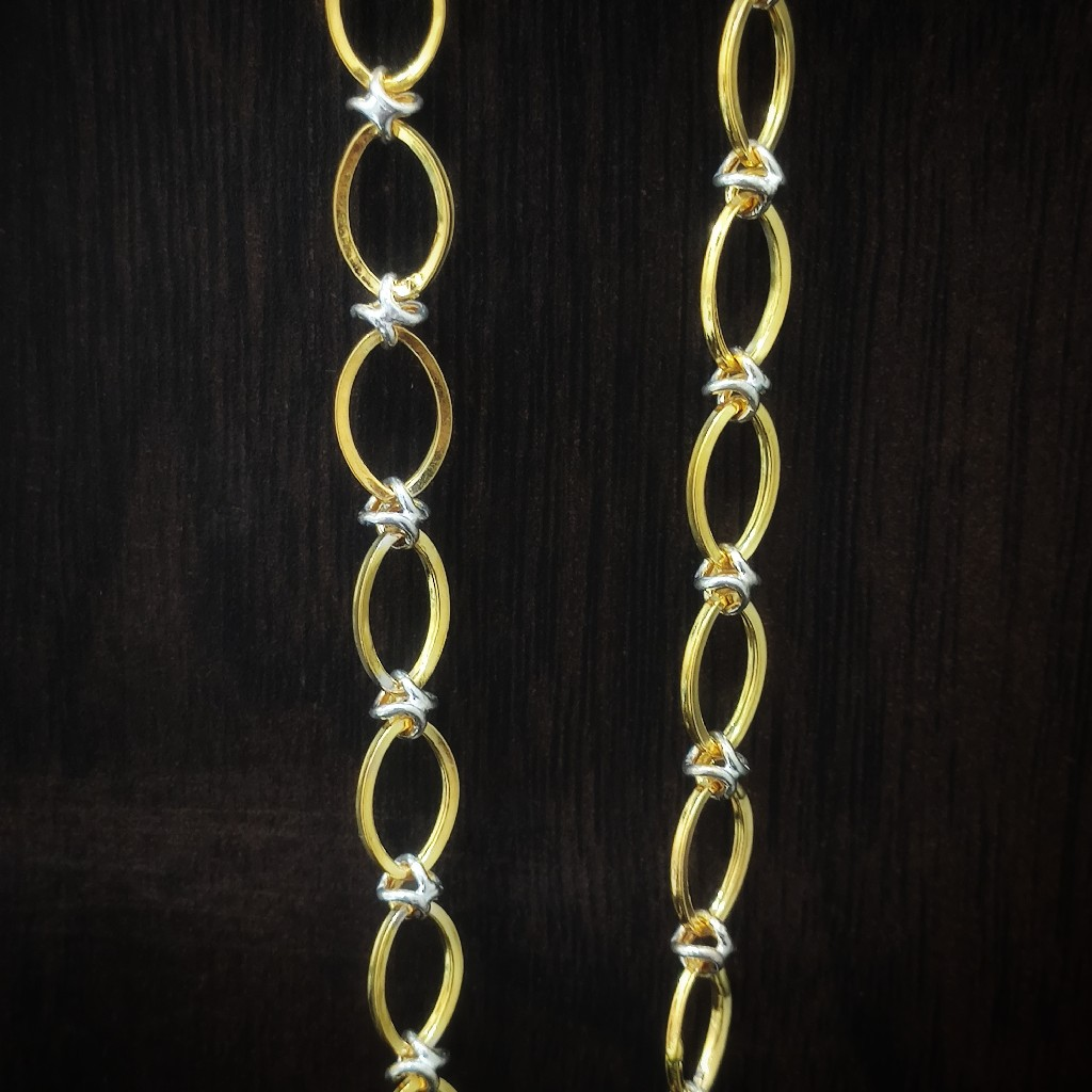 916 gold lightweight gents chain