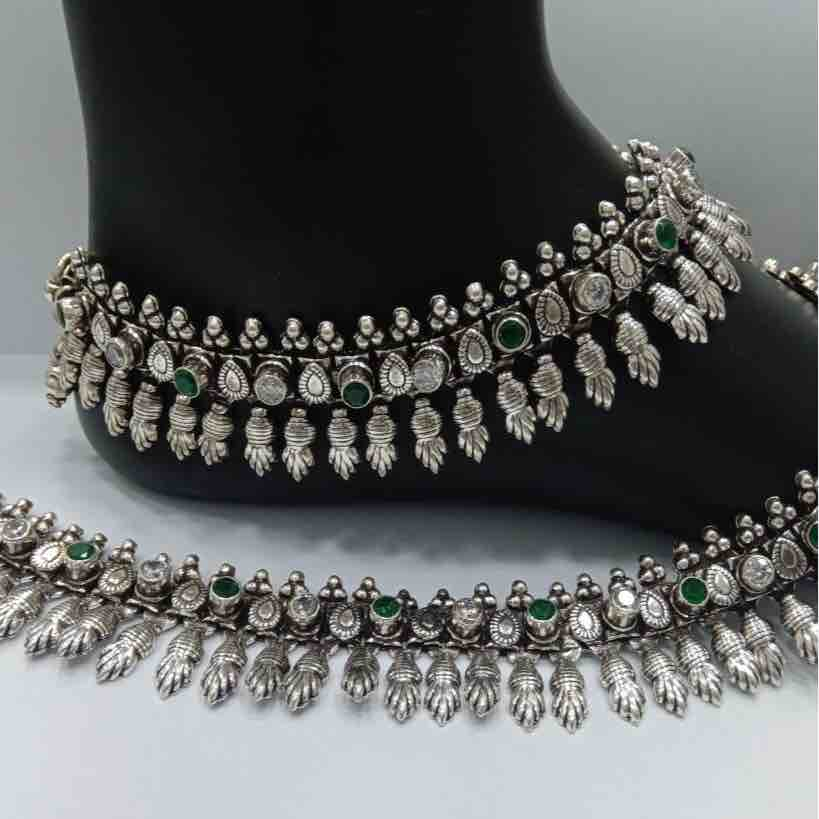 925 sterling silver Antique Bridal Payal