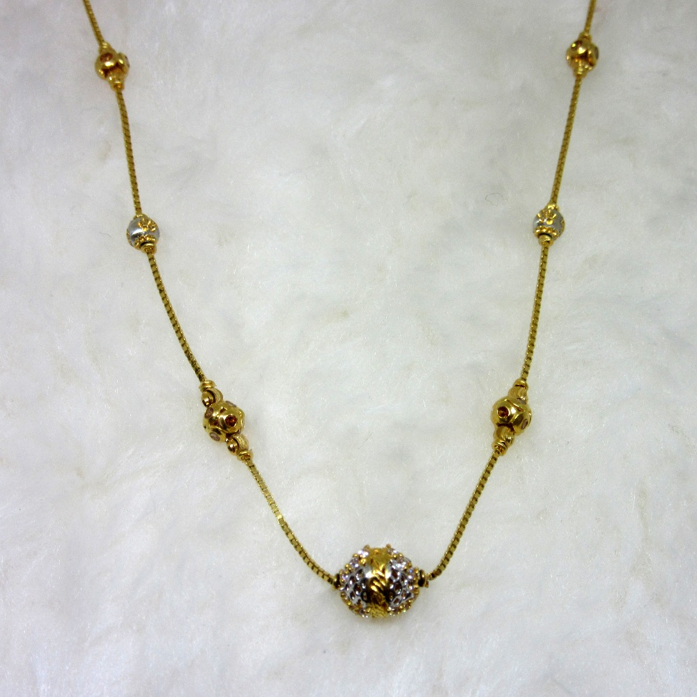 Gold ball classic chain