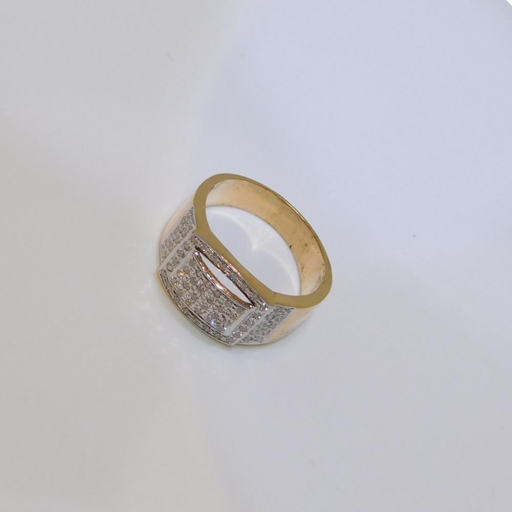 18K gold diamond ring agj-lr-157