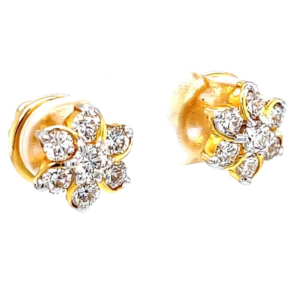 Seven Diamond Kudi with a gold Design 7TOP154