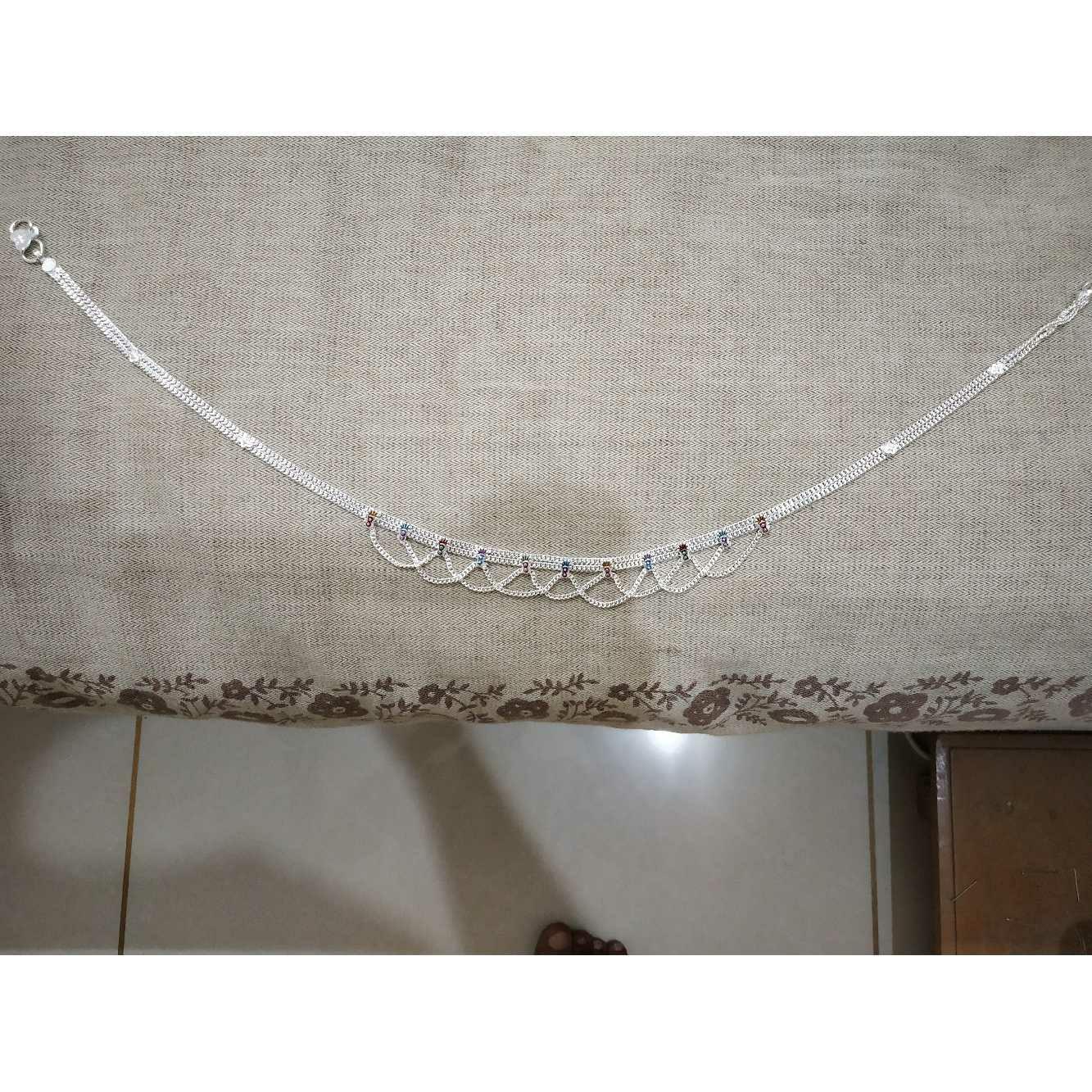 Dabal(Two 2) Line Kadap Chain Middle Jula Mina Chol Nakshi Aagra Baccha(Small Size) Kandora