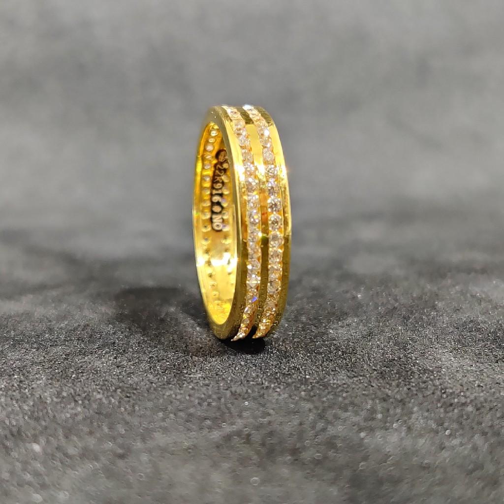 22Kt Designer Outwear Women's Gold Band-24702
