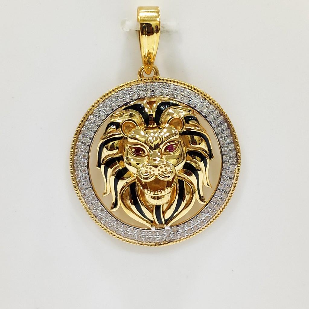 916 Lion Chain pendent