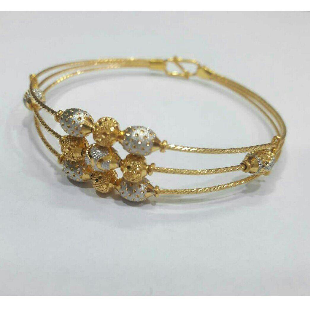22K / 916 Gold Indian Ladies 3 Line Bracelet