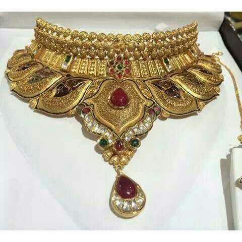 Rajkot Antique Work Necklace