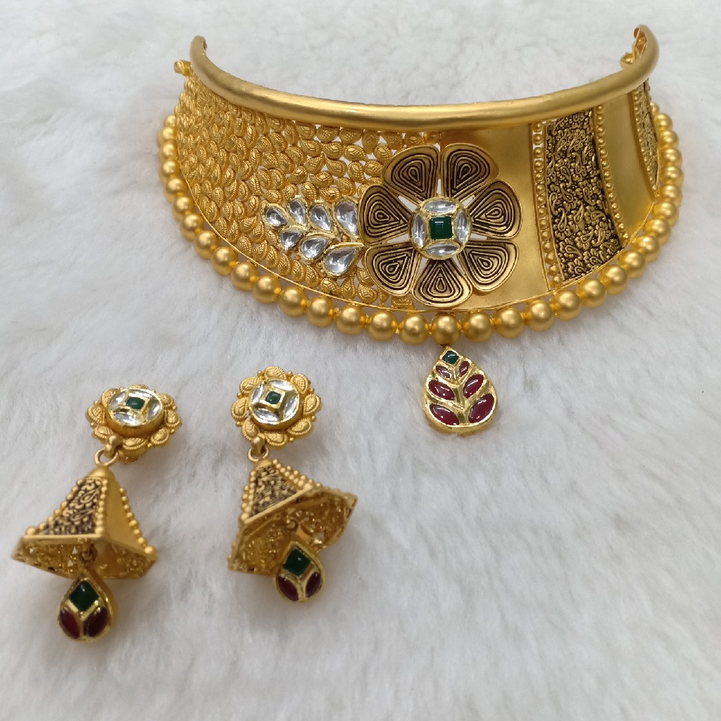 antique choker set