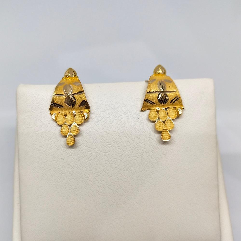 18Kt gold fancy earring dj-e015