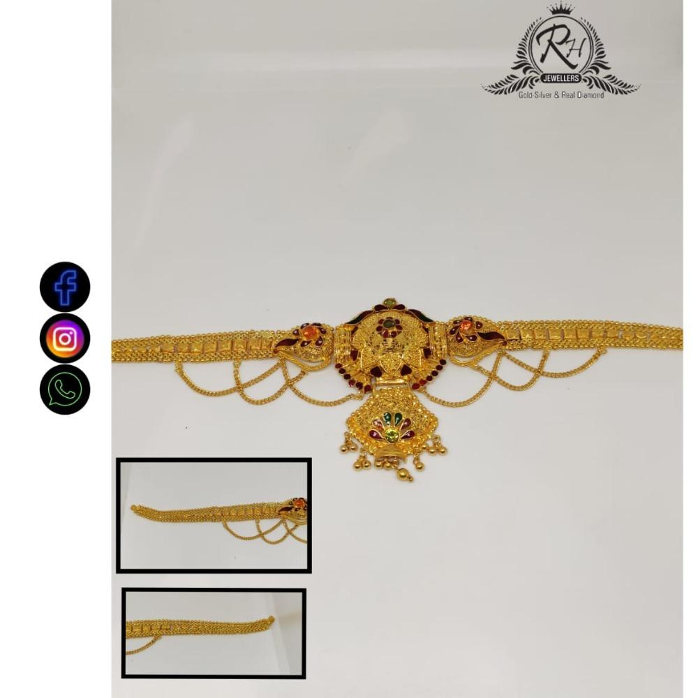 22 carat gold traditional ladies loket RH-LA492