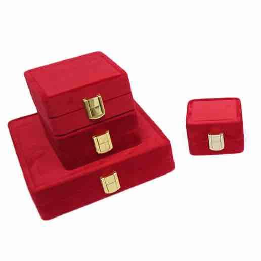 Rani swede jewellery box