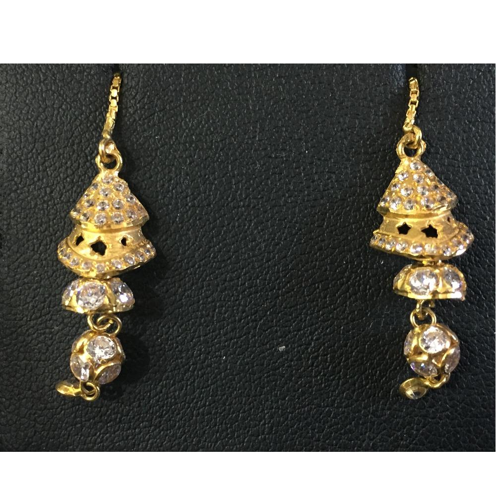 22KT / 916 Gold ghumkha set any gold tops for Ladies BTG0106